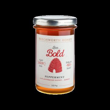 BBPEPPJAR350 _Beechworth-Honey-Bee-Bold-Peppermint-Jar