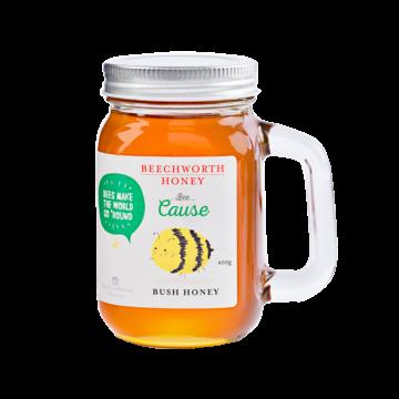 BCMASJAR400 Bee Cause Mason Jar 400g Web Res
