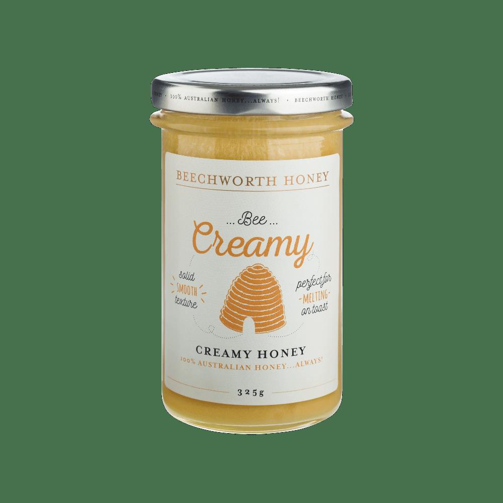 BCRHONEJAR325_Beechworth-Honey-Bee-Creamy-Jar