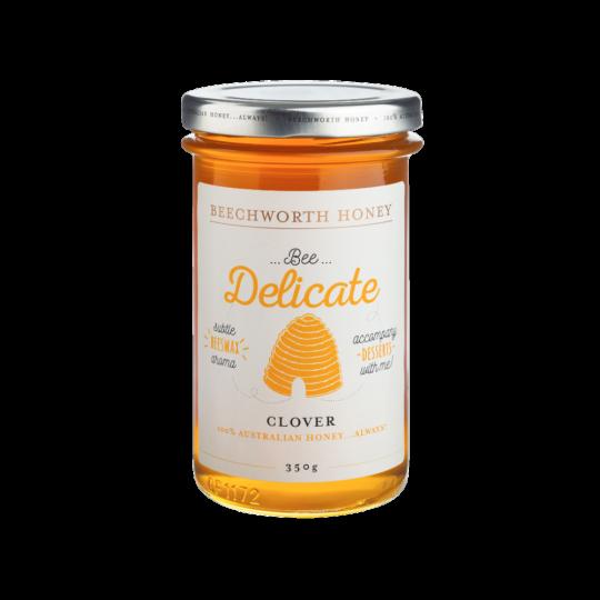 BDCLOVJAR350 _Beechworth-Honey-Bee-Delicate-Clover-Jar