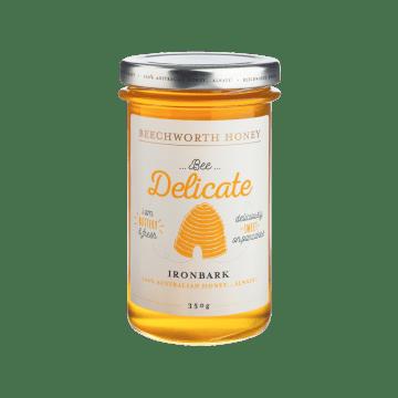 BDIRONJAR350 _Beechworth-Honey-Bee-Delicate-Ironbark-Jar