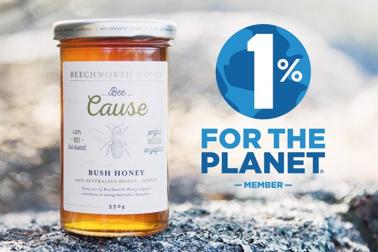 Bee Cause 1% for the Planet