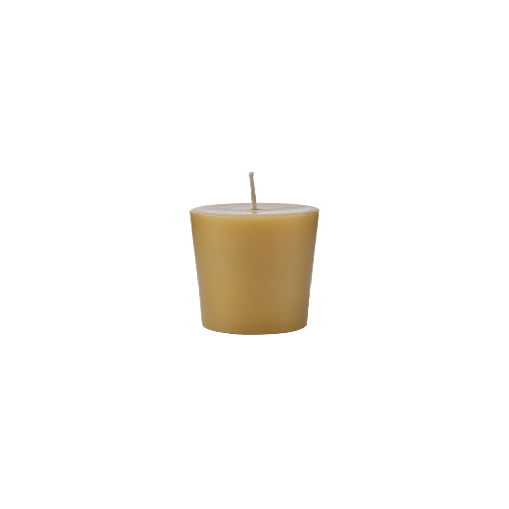 CSRM-Solid-Beeswax-Round-Candle-Large