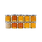 GPSAMPJAR10x45 - Honey Sampler 10 Pack (jars only)