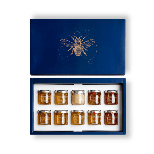 GPSAMPJAR10x45_BeechworthHoney_Sampler10