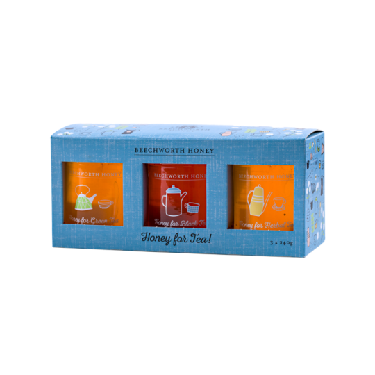 GPTEAJAR3X240 - Honey for Tea 3 x 240g