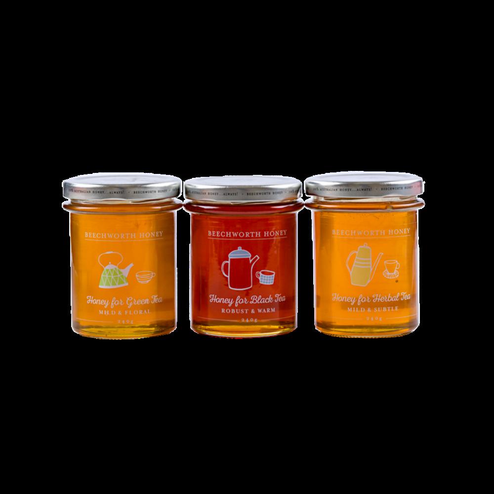 GPTEAJAR3X240- Honey for Tea 3 x 240g (jars only)