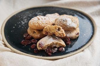 Honey, Cranberry & Almond Cookie